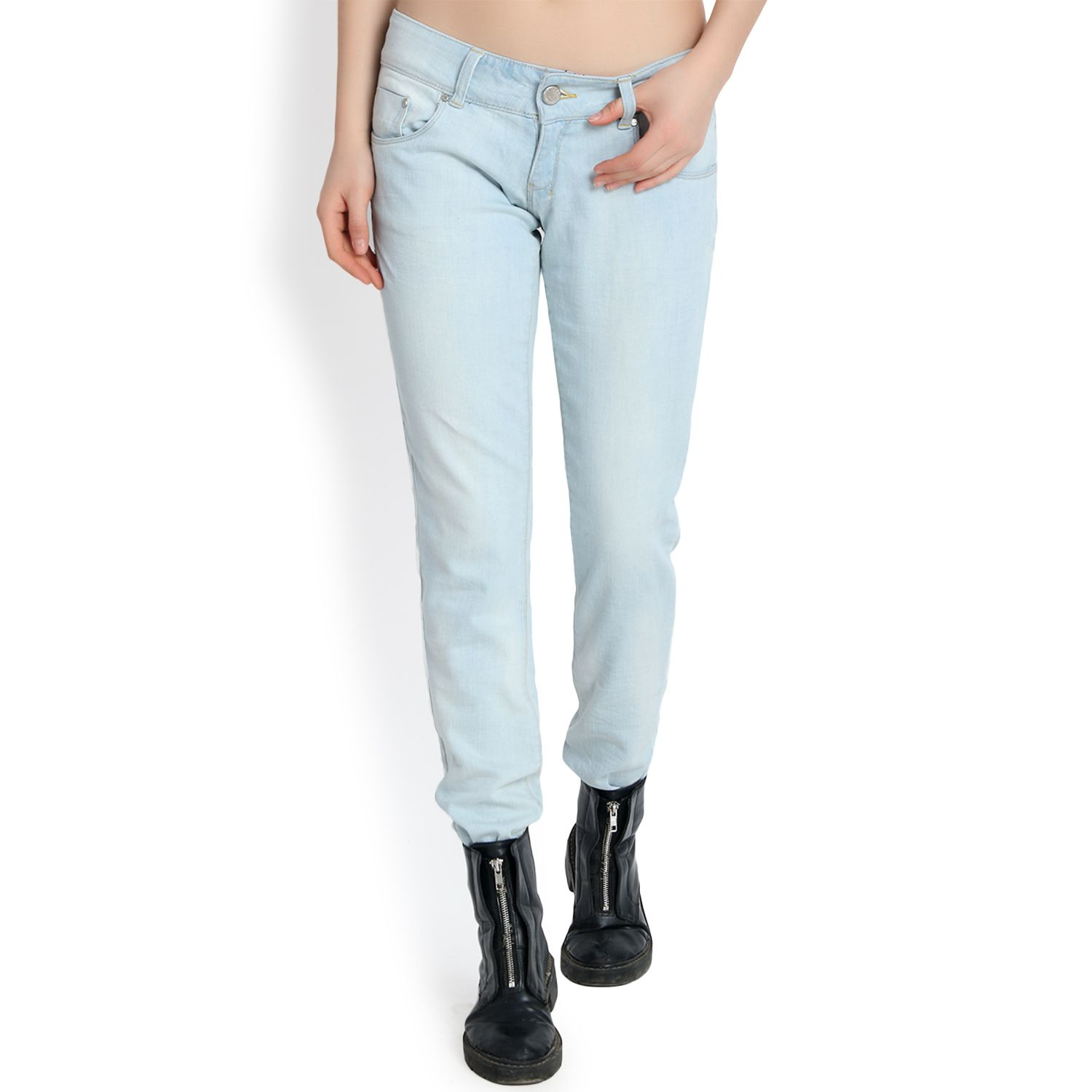 kotty Cotton Jeans - Blue
