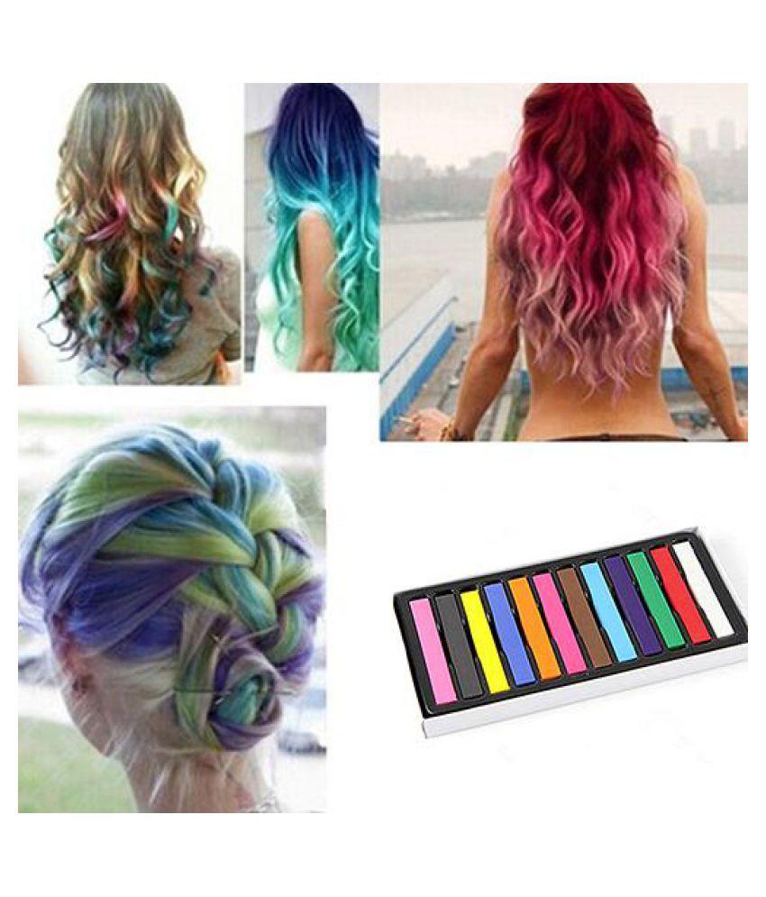 12 Colors Fast Temporary Pastel Hair DIY Salon Painting Extension Dye Chalk