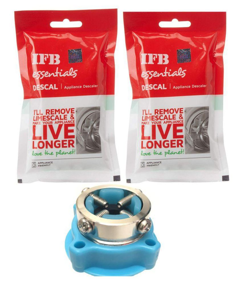 IFB Washing machine drum cleaning Detergent Powder Combo with tap  adaptor5+1 500 gm