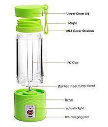 SIYA INFOTECH Portable USB Juicer 100 Watt 1 Jar Juicer Mixer Grinder