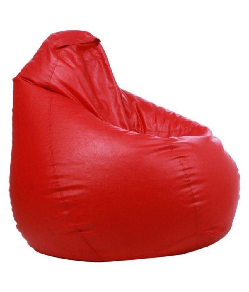 Remarkable Spark Classical Xxl Bean Bag Covers Without Beans Red Buy Spark Classical Xxl Bean Bag Covers Without Beans Red Online At Best Prices In India On Inzonedesignstudio Interior Chair Design Inzonedesignstudiocom