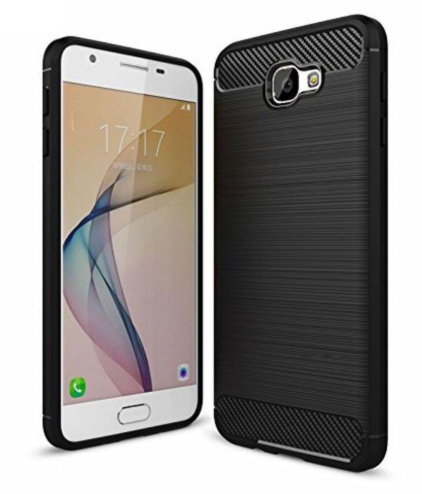 Samsung Galaxy J4 Plus Hybrid Covers SLR - Black