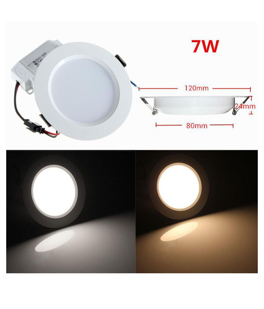 check out 8c8a9 d0e3c 3/5/7W LED Panel Light Ceiling Lights Led sensor Downlight Human Body  Infrared Detector Motion Switch Round Flush Mount Light
