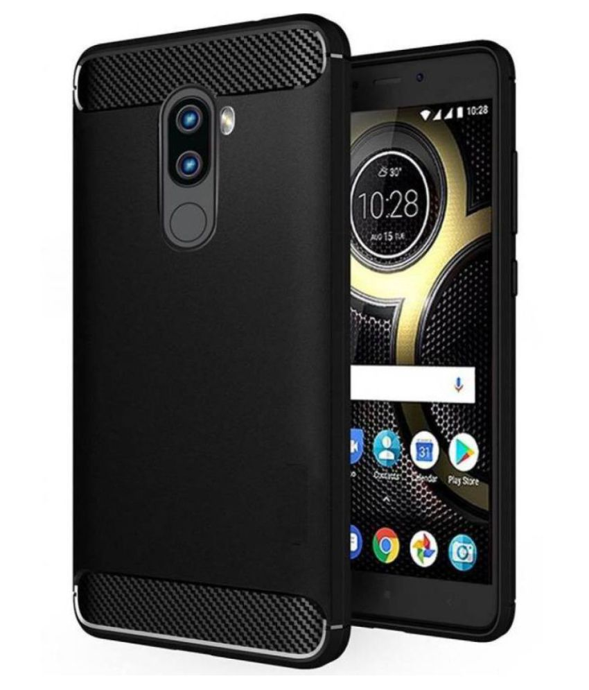 Lenovo K8 Plus Hybrid Covers TAG - Black