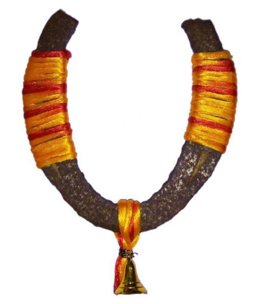 Shivoham Multicolour Iron Decorative Bells - Pack of 1