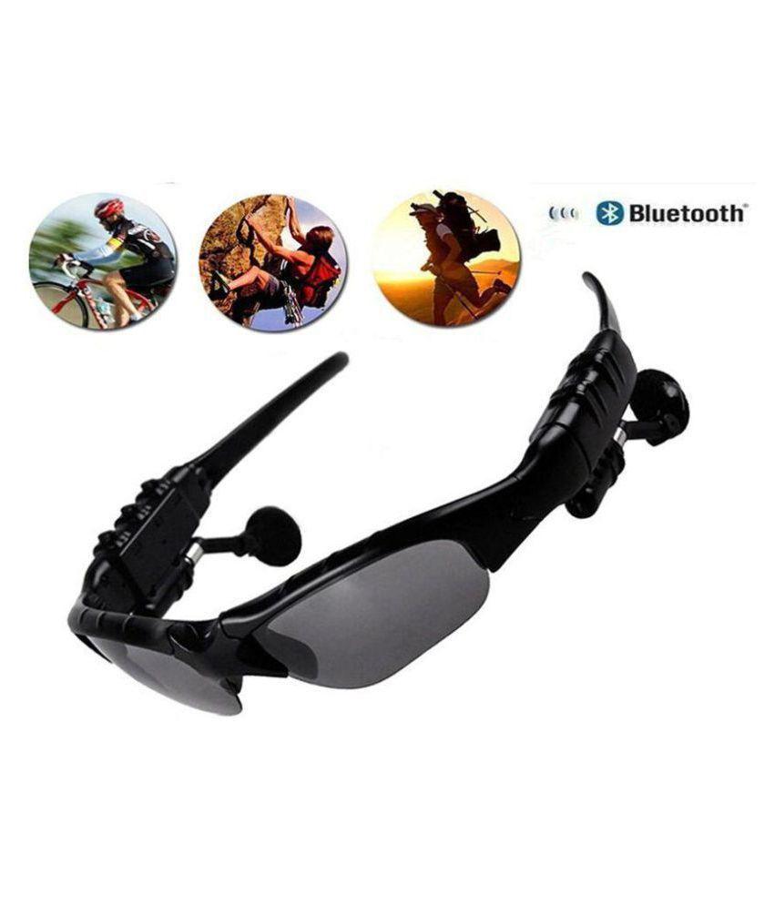 Bentag Viki Wireless Bluetooth Sun glass Headset goggle   Black  Smart Wearable Calling  amp; Music