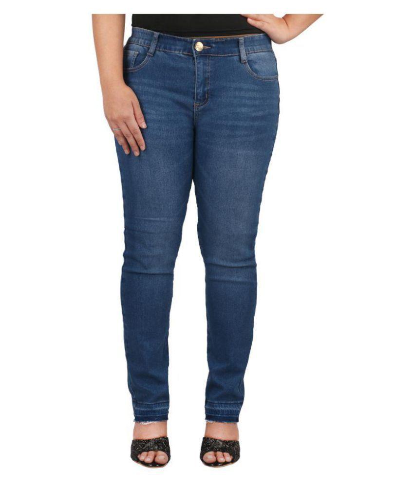 Fashiontiara Denim Jeans - Blue