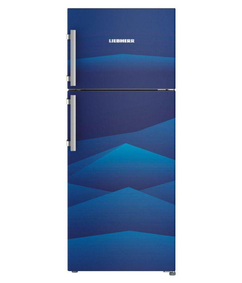 LIEBHERR 265 Ltr 4 Star TCB 2620 Double Door Refrigerator - Blue
