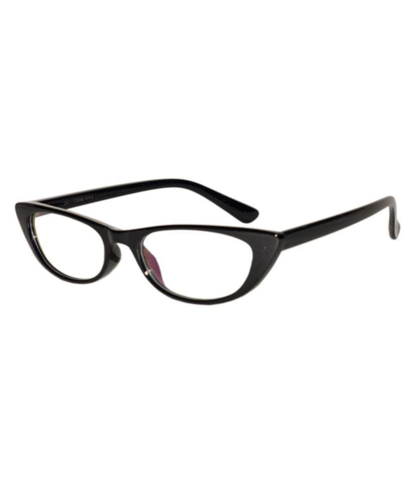 Peter Jones Black Cateye Spectacle Frame B111