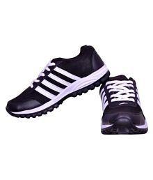 Begone Stylish Shoe for Men Black Running Shoes