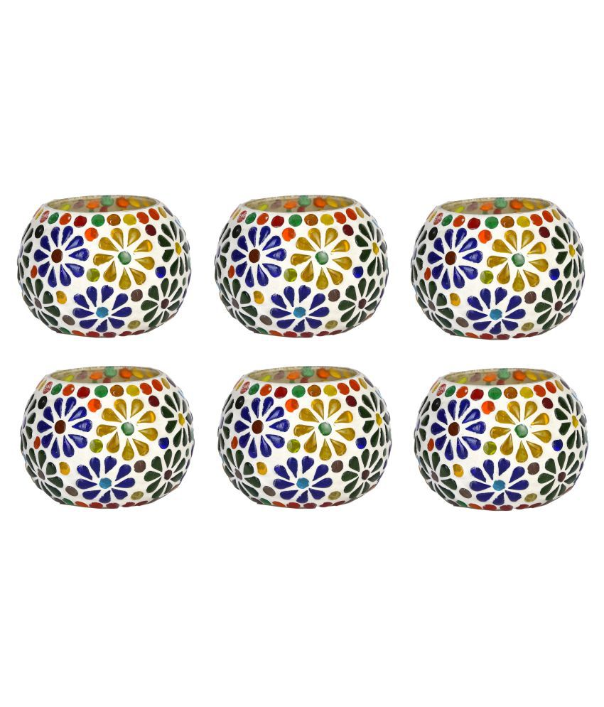 AFAST Multicolour LED Tea Light - Pack of 6