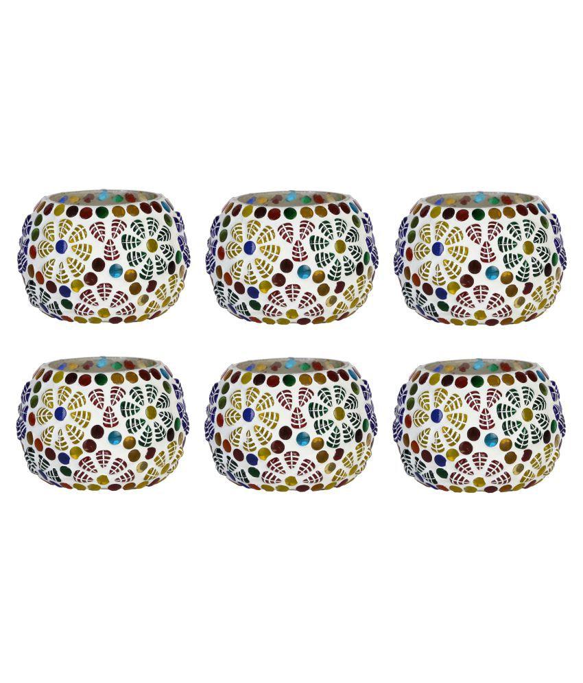 AFAST Multicolour LED Tea Light - Pack of 6