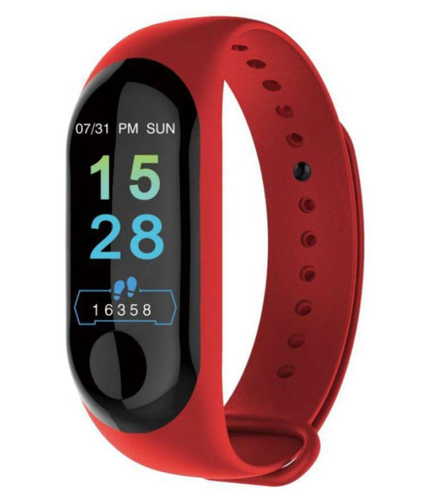 IBS M3 Band Waterproof Heart Monitoring Sensor Features And Many Other Features Fitness Band & Tracker.