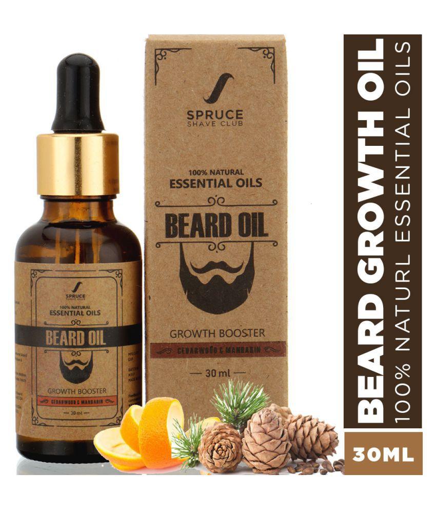 Spruce Shave Club Cedarwood Beard Oil For Growth 30 ml