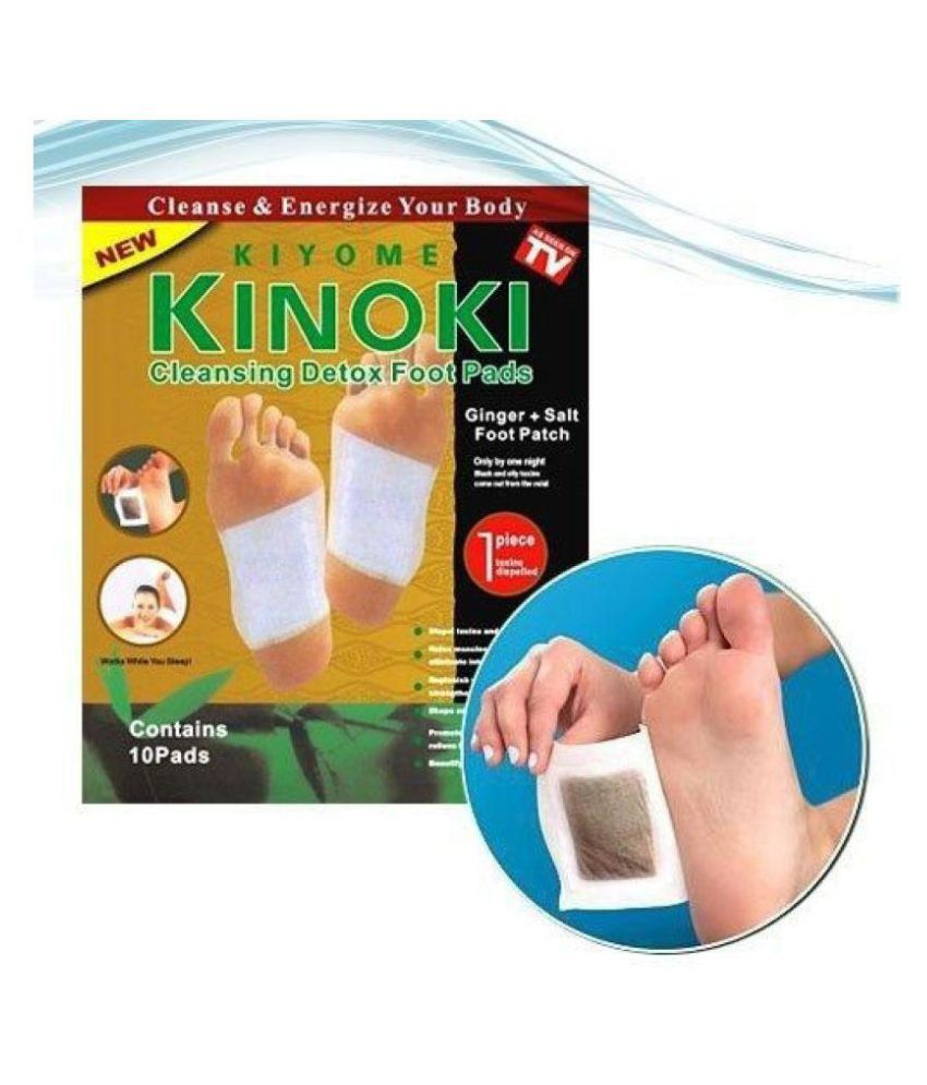 sarte textile Kinoki Cleansing Toxins Remover Detox Foot Pad Foot Protectors Free Size
