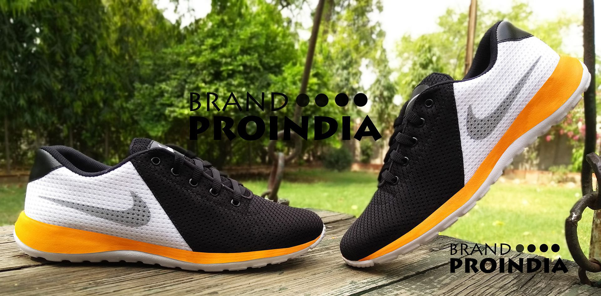 ProIndia Outdoor White Casual Shoes