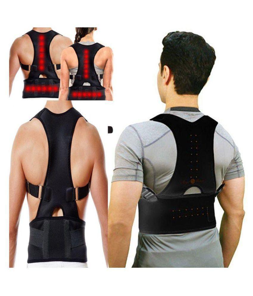 SELVA FRONT Posture Spine Magnetic Lumbar Correction Belt XL