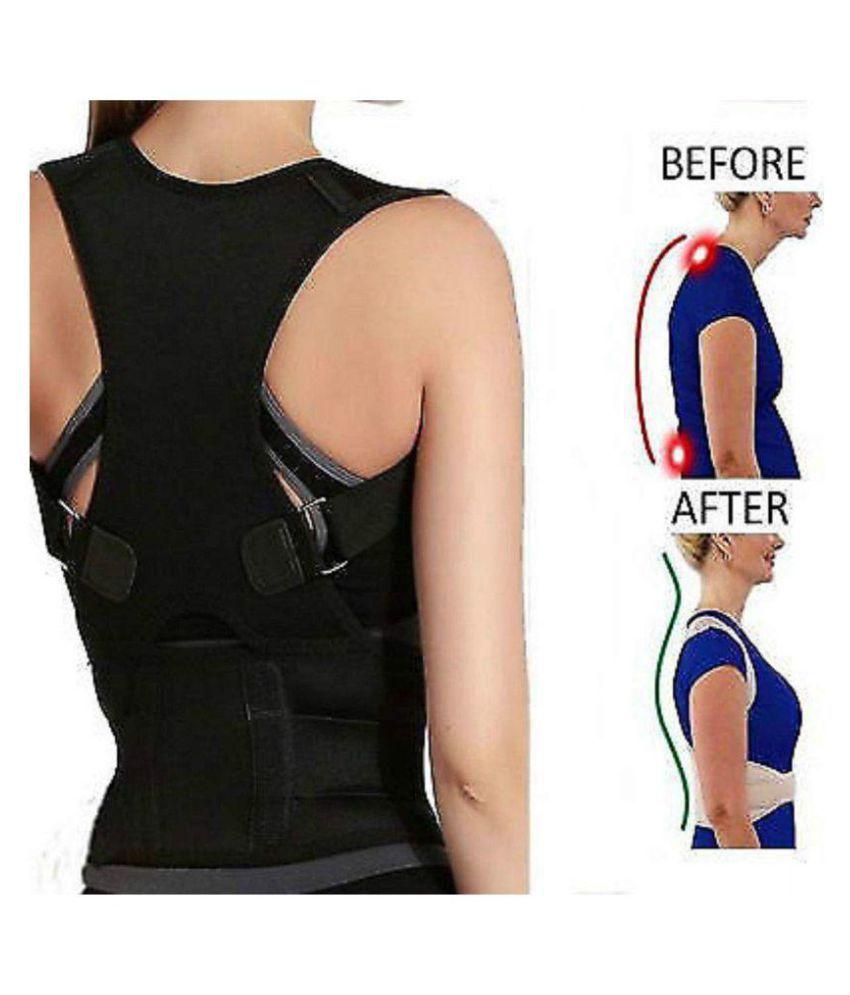 SELVA FRONT Posture Spine Magnetic Lumbar Correction Belt M
