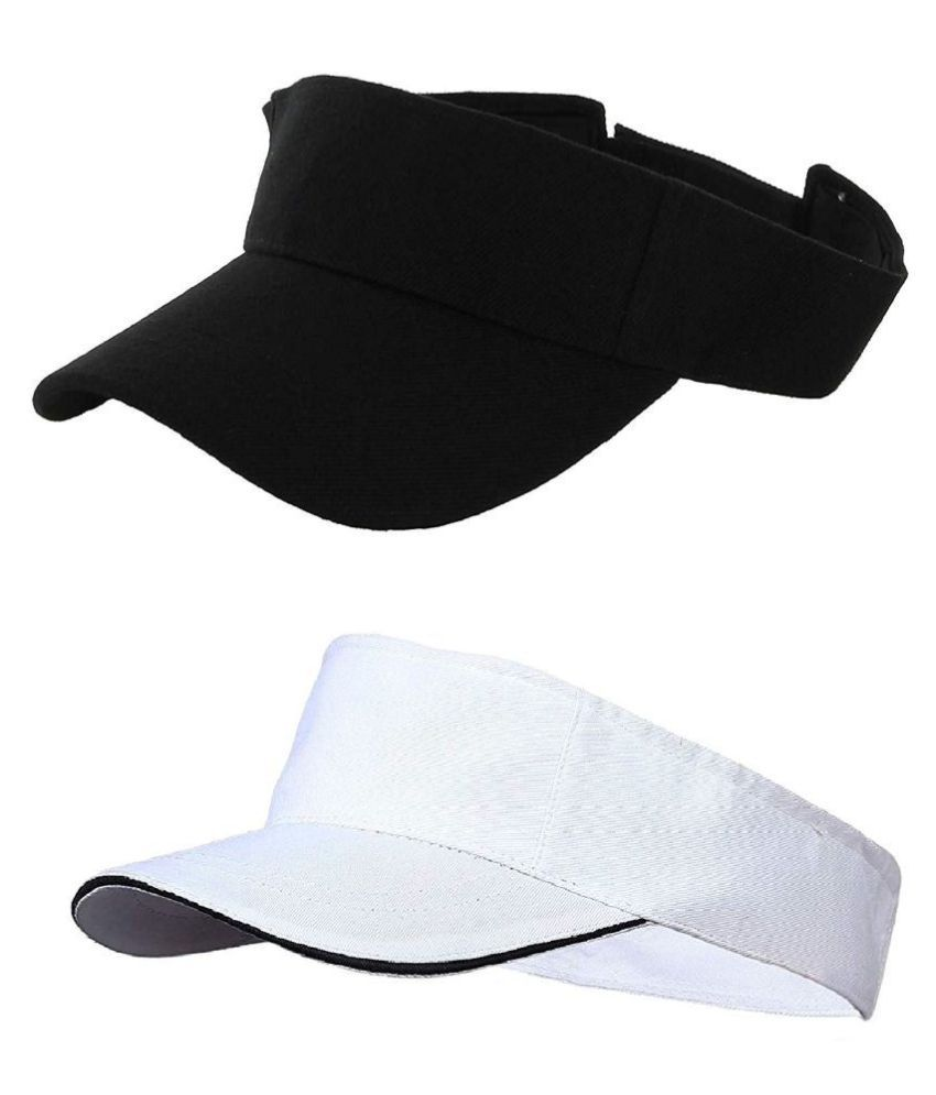 b5fc6cf1 Zacharias Unisex Tennis Visor Golf Sunshade Cap ( Fits all Above 14 Years  Age): Buy Online at Low Price in India - Snapdeal