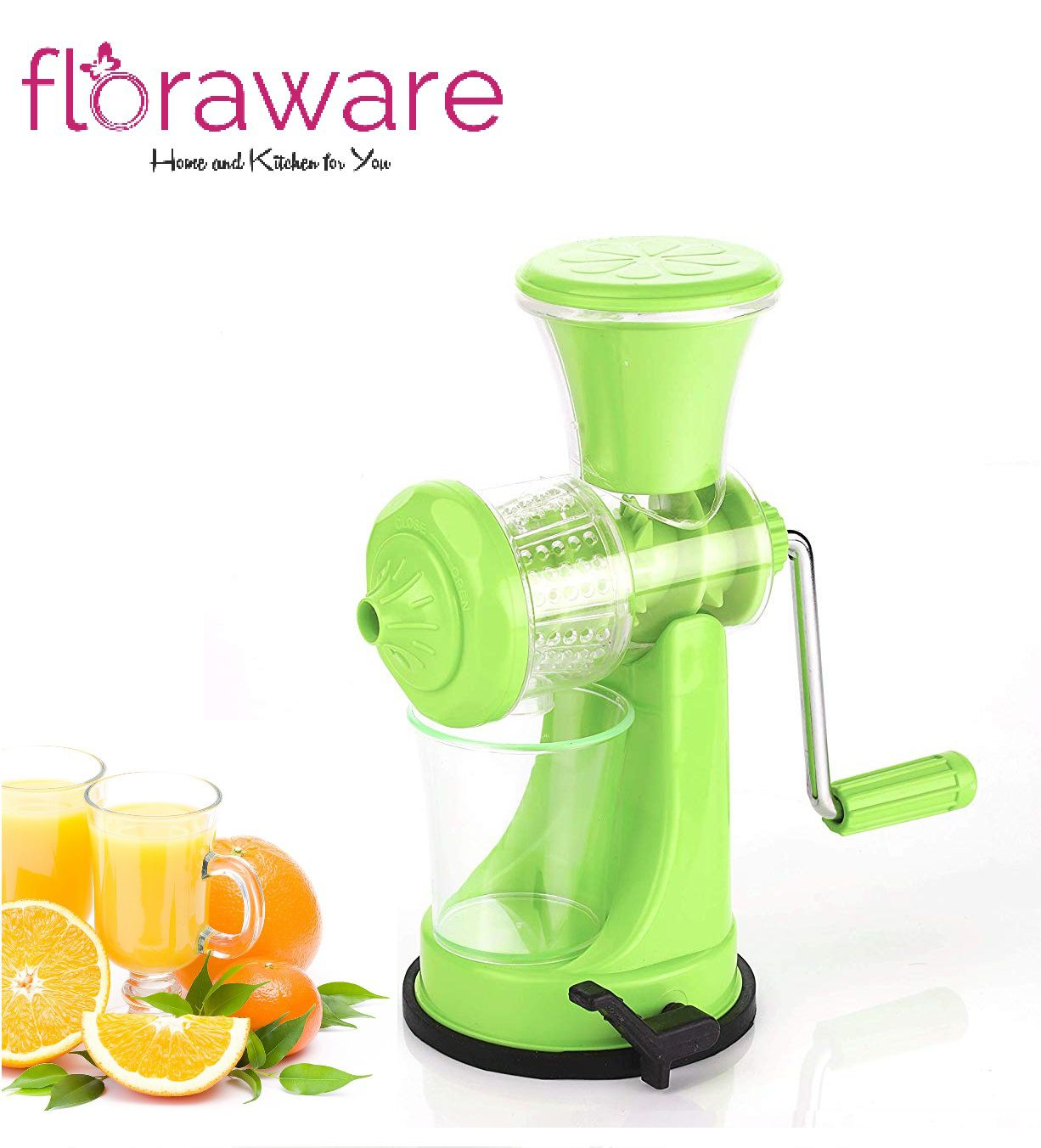 Floraware Light Green Manual Juicer