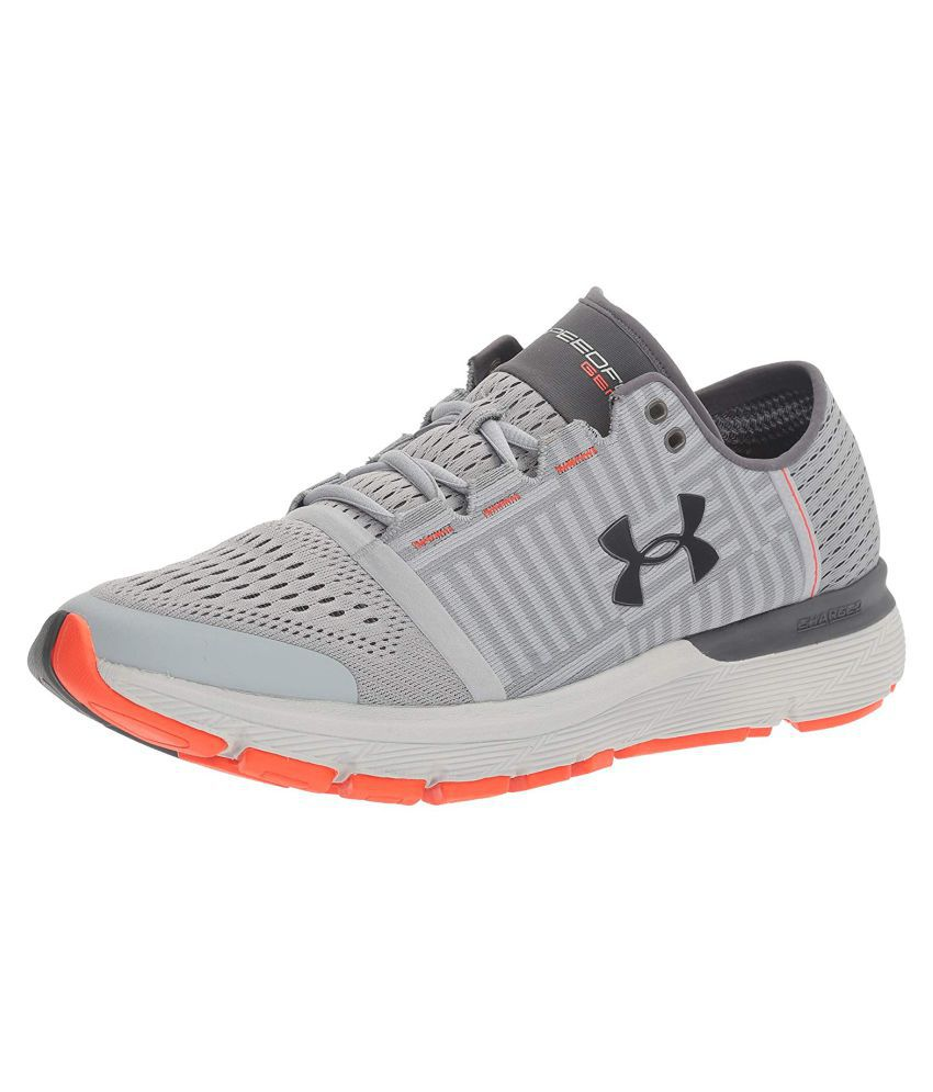 online store 6459f 4dd01 Under Armour Speedform Gemini Gray Running Shoes