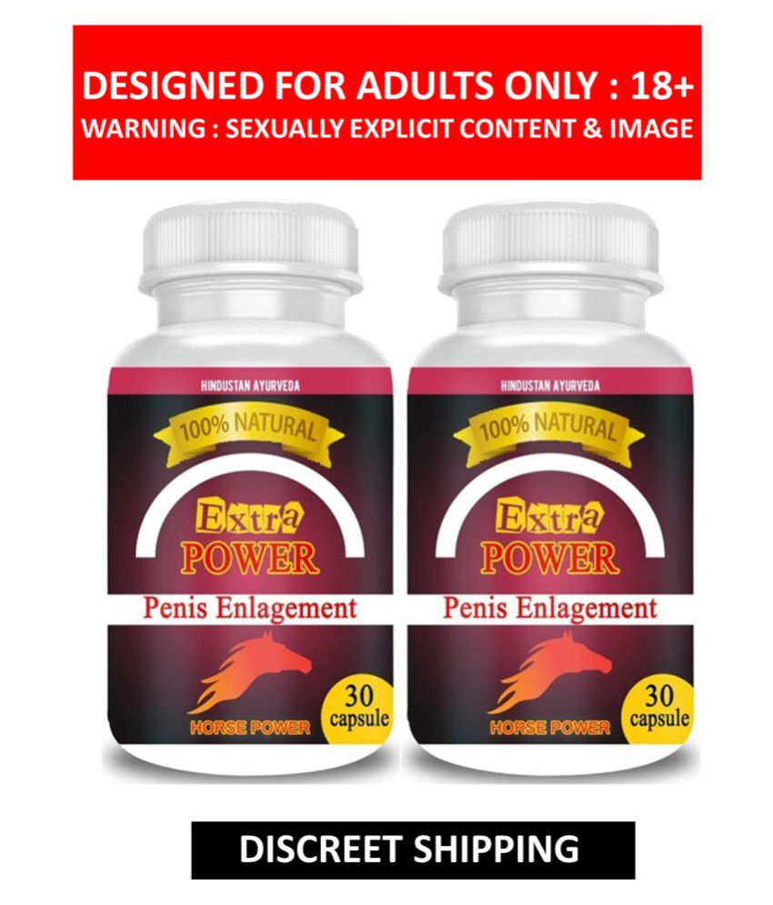 Zemaica Healthcare Extra Power Capsules For Men Power Capsule 60 no.s Pack Of 2