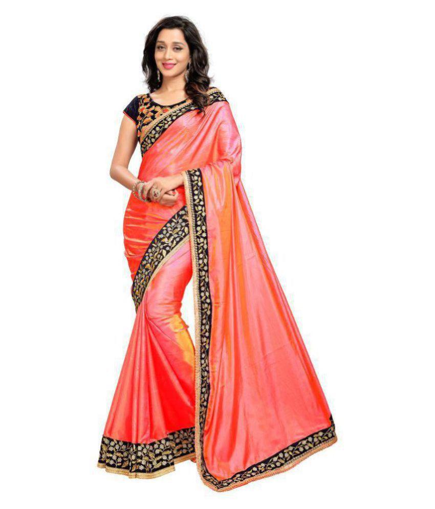 27a22d7bb4947 C&H Pink Crepe Silk Saree - Buy C&H Pink Crepe Silk Saree Online at Low  Price - Snapdeal.com