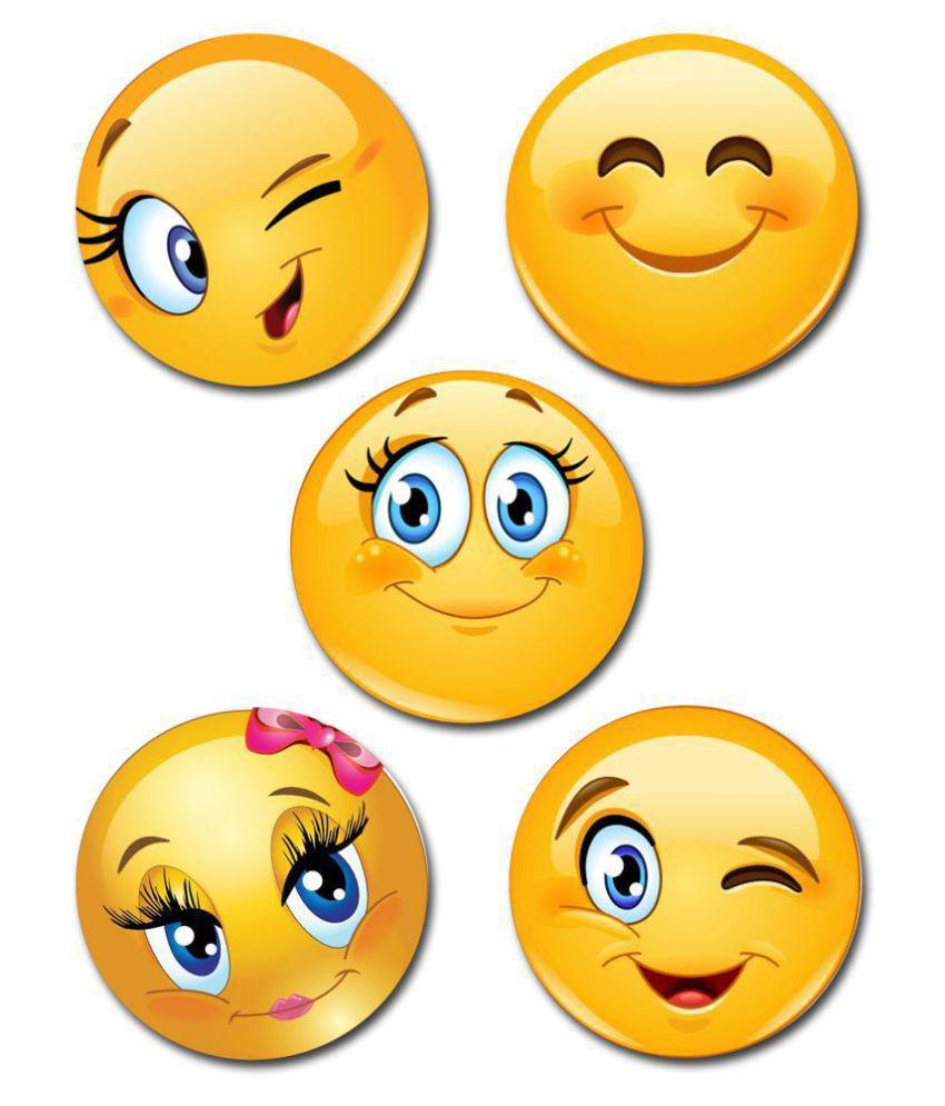 EFW BUTTON BADGE SMILEY, EMOJIES DESIGN2