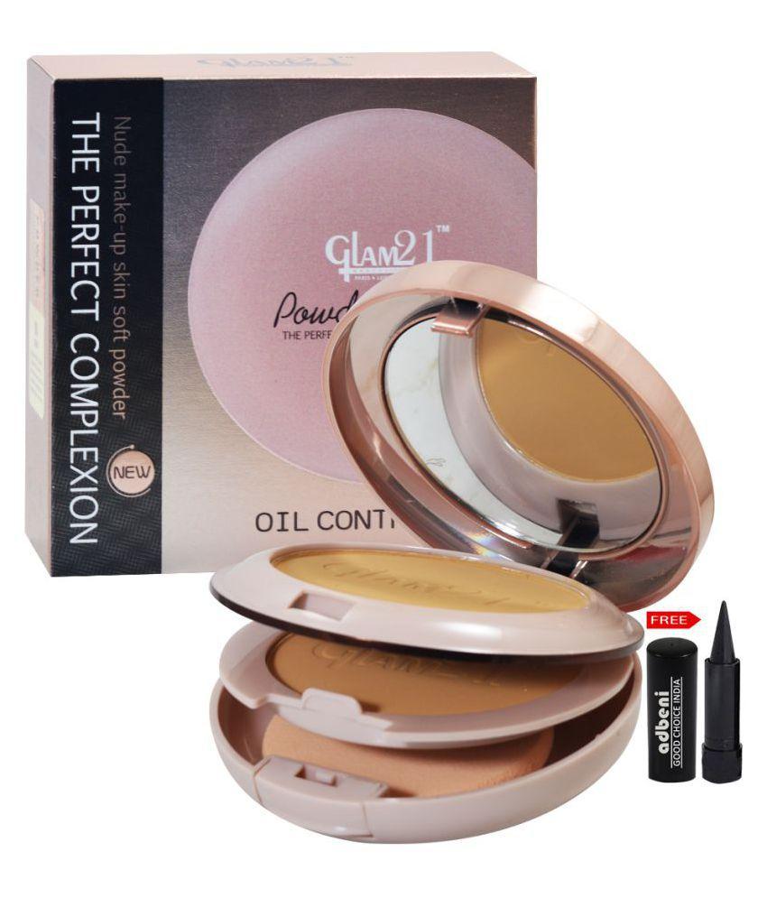 Glam21 Powder Perfect-CP8009-03 Pressed Powder Beige 24 gm