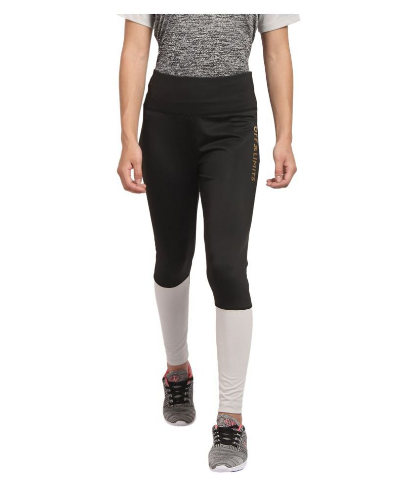 OFF LIMITS Polyester Tights - Black