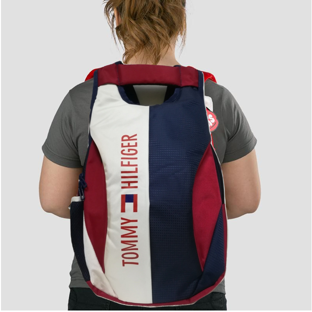 4b16c455f2b Tommy Hilfiger Red Canvas College Bags Backpacks- 20 Ltrs Tourist Bag - Buy  Tommy Hilfiger Red Canvas College Bags Backpacks- 20 Ltrs Tourist Bag Online  at ...