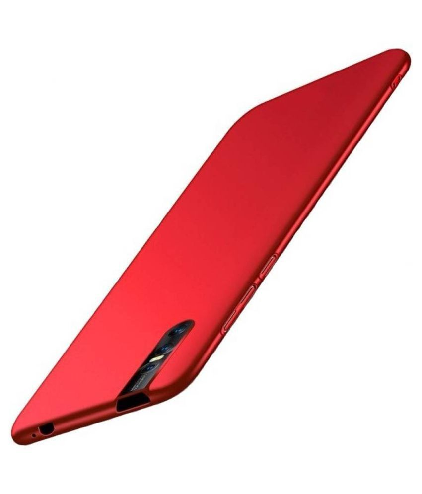 Xiaomi Redmi Note 6 Pro Glass Cover Lejaao - Red 360 Degree Protection