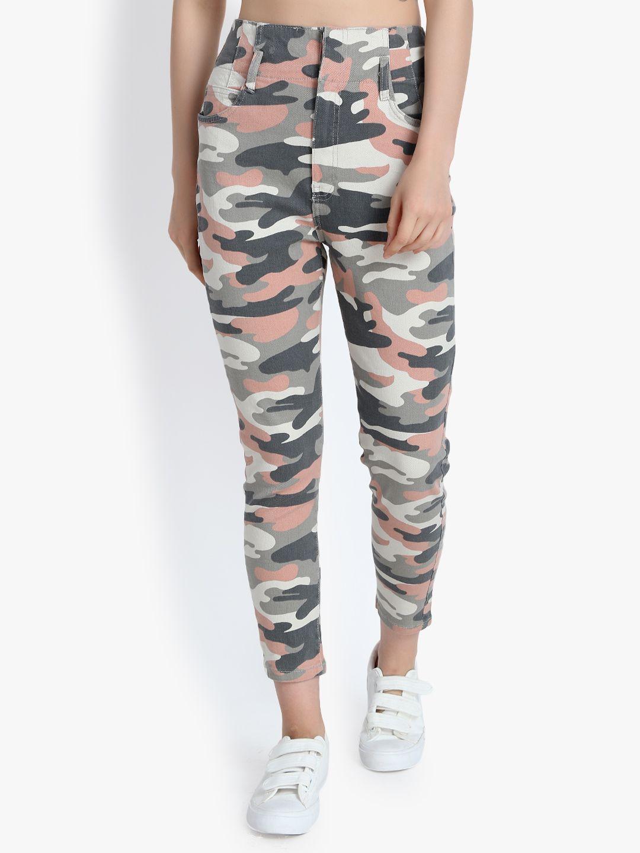 kotty Cotton Jeans - Multi Color