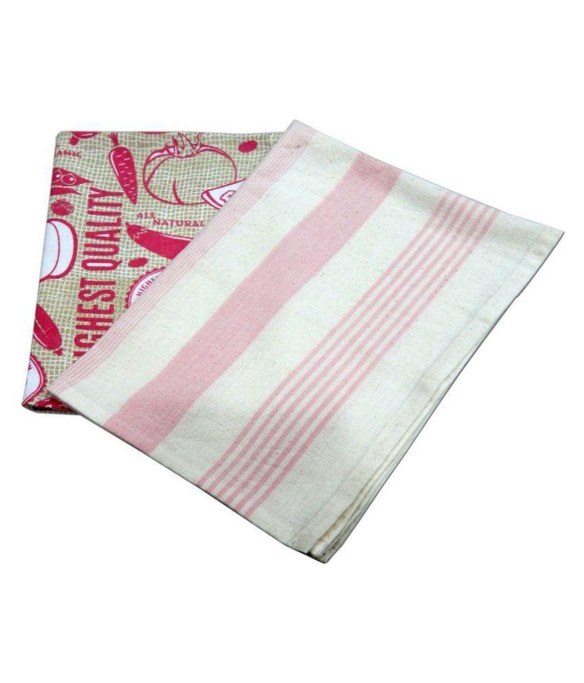 URBAN-TRENDZ Set of 2 40x60 Cotton Kitchen Towel