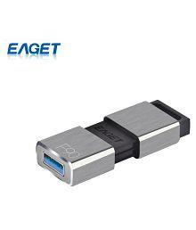 EAGET New F90 USB Flash Drive 16G 32G 64G 128G 256G Pen Drive Ultra Fast Metal Mini USB 3.0 Memory External Storage Disk