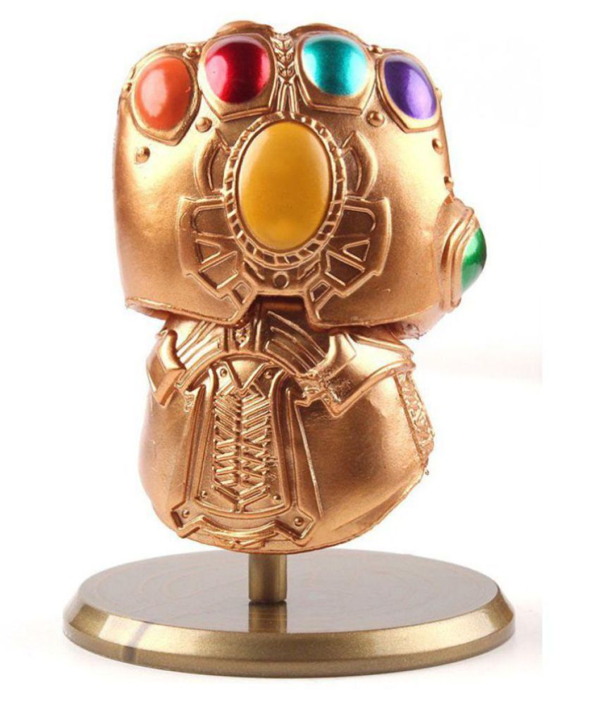 Marvel Avengers Infinity War Thanos Infinity Gauntlet 9 Cms. Bobbling Toy for Car Dashboard - Desktop Toy