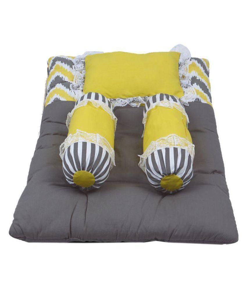 Bacati Multi-Colour Cotton ( 4 pcs) Bedding Sets baby sleeping bed sheet