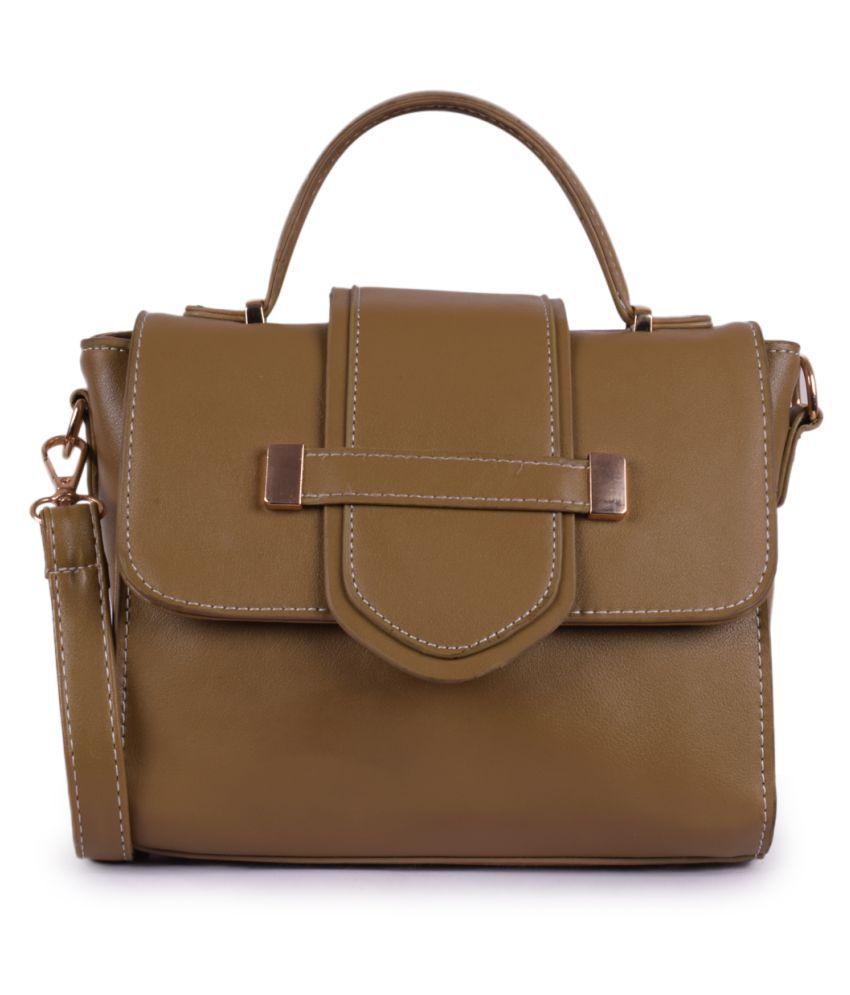 Bagkok Green P.U. Handbags Accessories
