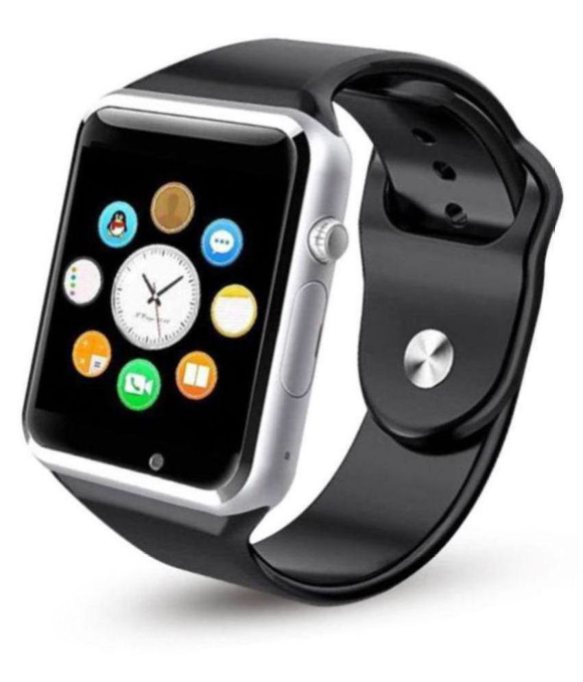 c605e9183e0 A1 smart watch Smart Watches Silver - Wearable   Smartwatches Online at Low  Prices