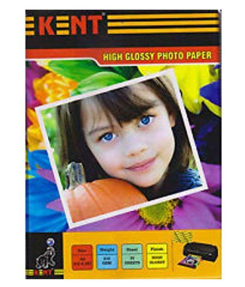 Self Adhesive Inkjet Photo Paper 135 GSM A4 20 Sheet