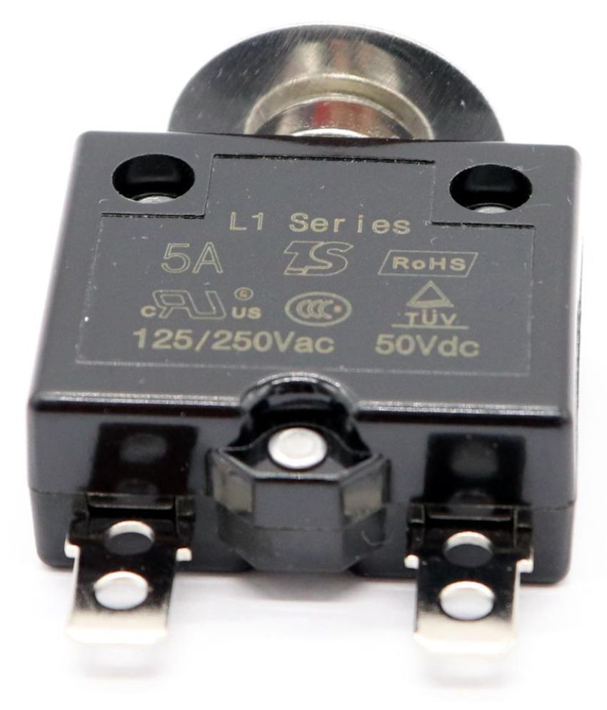 20A Push Button Switch 125//250VAC 50VDC Thermal Circuit Breaker NEW