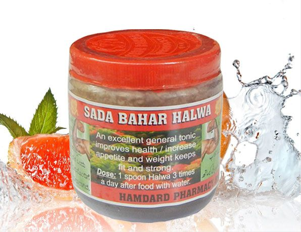 Sada Bahar Herbal Health Tone Weight Gain Powder 70 gm Unflavoured Pack of 6