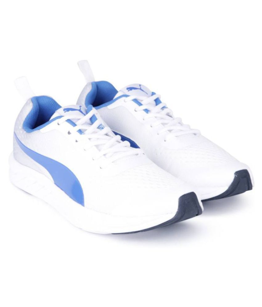 40a53cb20f4 Puma White Running Shoes Price in India- Buy Puma White Running Shoes  Online at Snapdeal