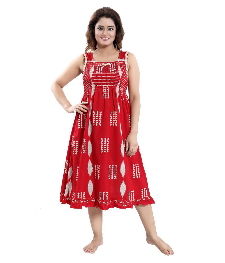 Cinco Cotton Nighty & Night Gowns - Multi Color