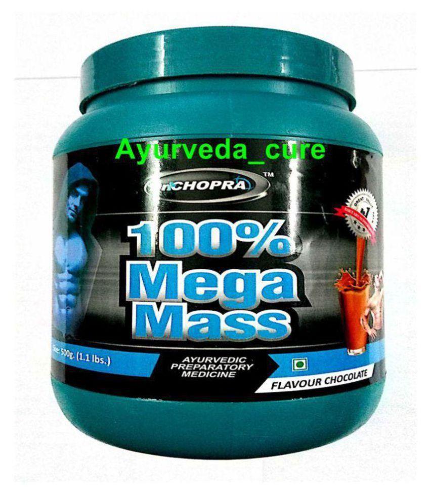 Ayurveda Cure 100% Mega Mass 500 gm Chocolate