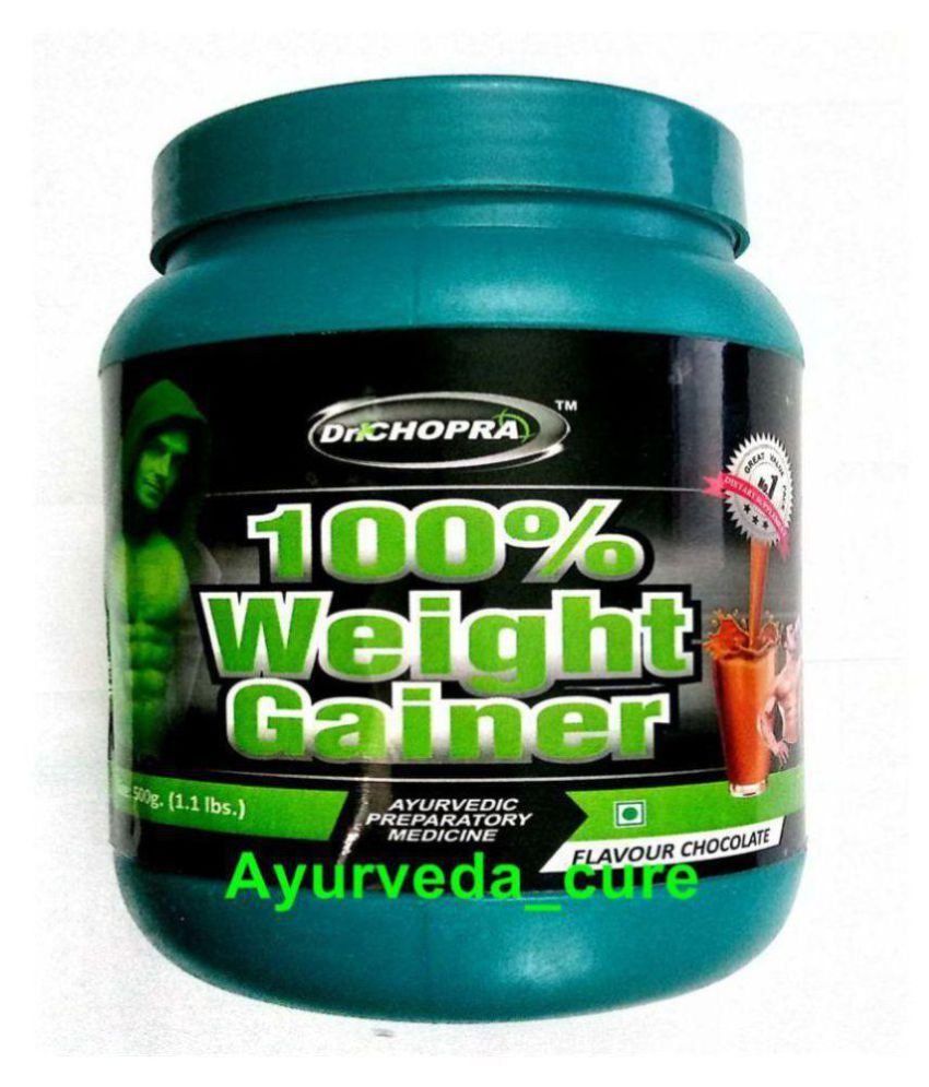 Ayurveda Cure 100% Weight Gainer 500 gm Chocolate