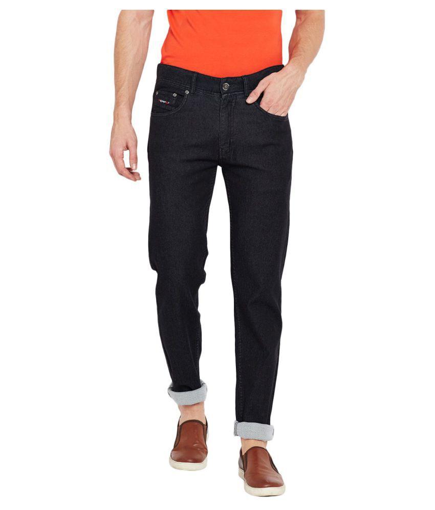 PERF Black Slim Jeans