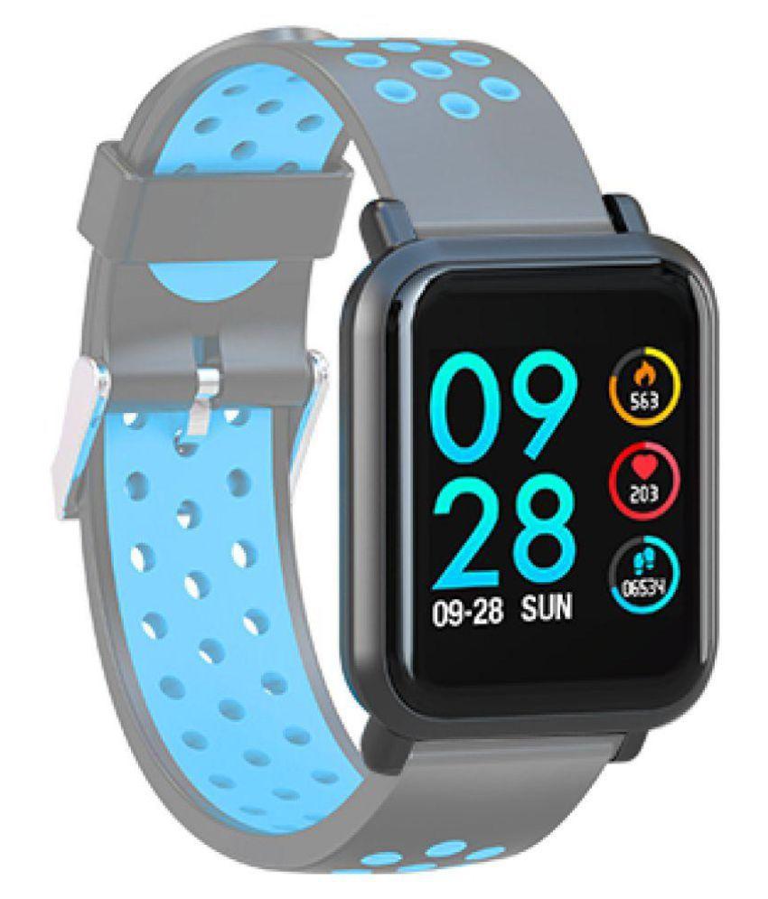 AQFIT MULTIFUNCTION  W8 Waterproof Smart Watches Grey