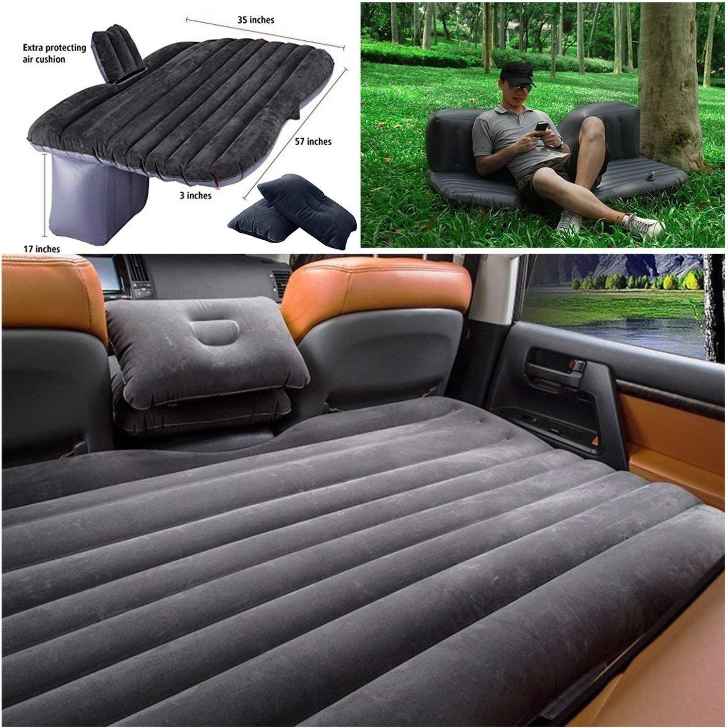 Bk10 Travel Sleeping Back Seat Comfortable Vehicle With Electric