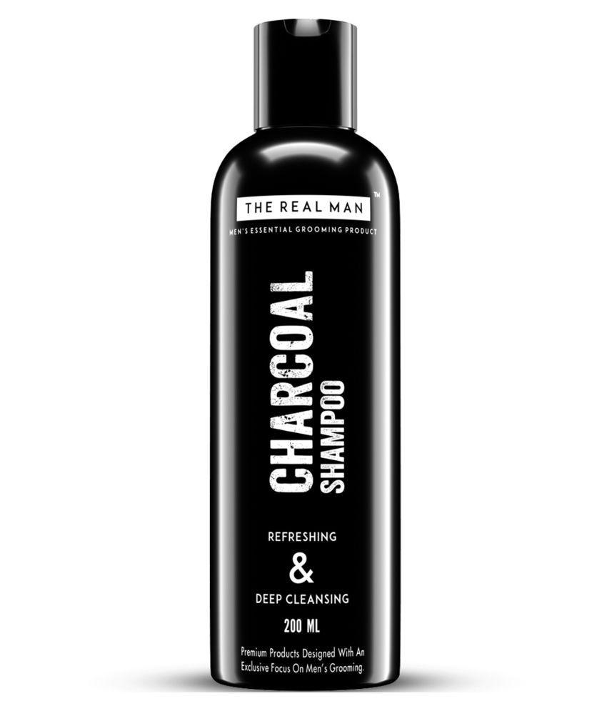 THE REAL MAN Charcoal Refreshing Shampoo 200 ml